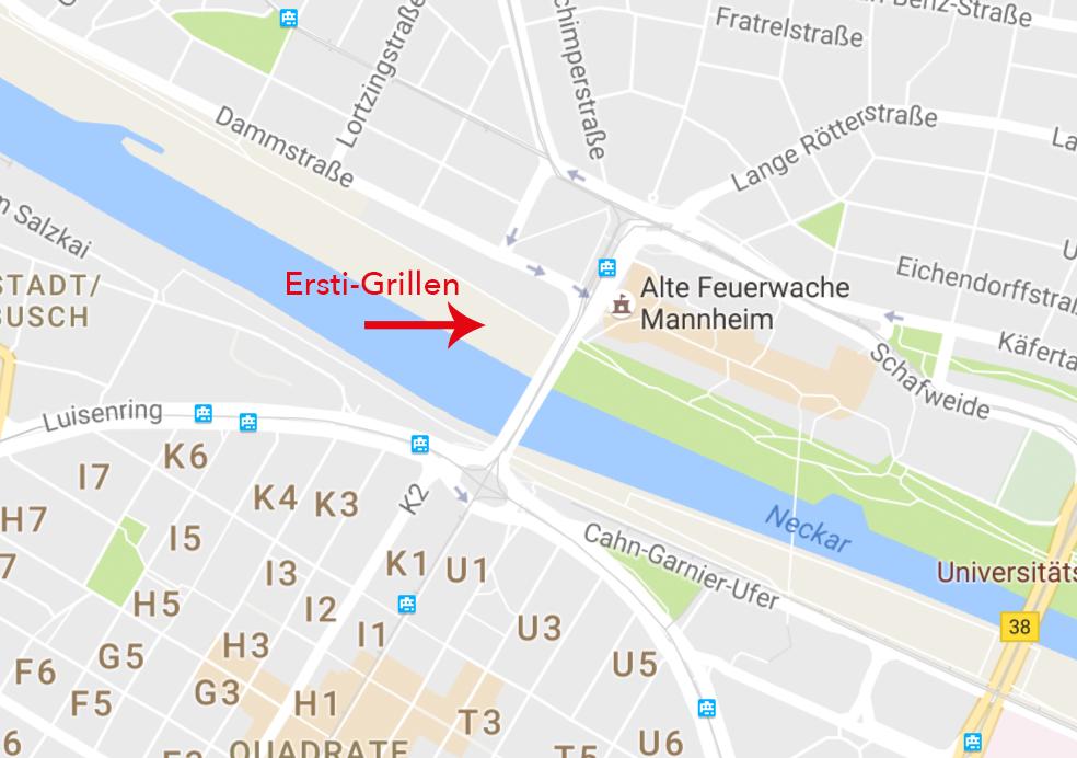 Ersti-Grillen-Karte
